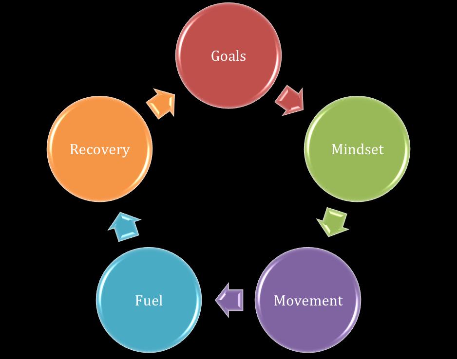 Goals wheel
